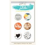 My Mind's Eye - Jubilee Collection - Tangerine - Flair Pins - Adventure
