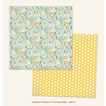 My Minds Eye - Jubilee Collection - Tangerine - 12 x 12 Double Sided Paper - Adventure Charming