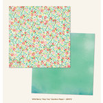 My Mind's Eye - Jubilee Collection - Wild Berry - 12 x 12 Double Sided Paper - Hey You Gardens