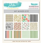 My Mind's Eye - Jubilee Collection - Mint Julep - 6 x 6 Paper Pad