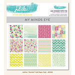 My Mind's Eye - Jubilee Collection - Sherbet - 6 x 6 Paper Pad