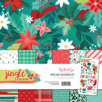 My Minds Eye - Jingle All the Way Collection - Christmas - 12 x 12 Collection Pack
