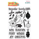 My Minds Eye - Jingle All the Way Collection - Christmas - Clear Acrylic Stamps