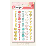 My Mind's Eye - Just Saying Collection - Enamel Dots