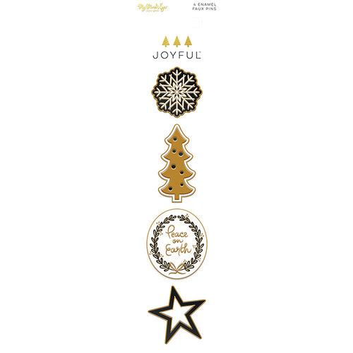 My Minds Eye - Joyful Collection - Christmas - Enamel Pins