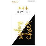 My Minds Eye - Joyful Collection - Christmas - Journal Cards with Foil Accents