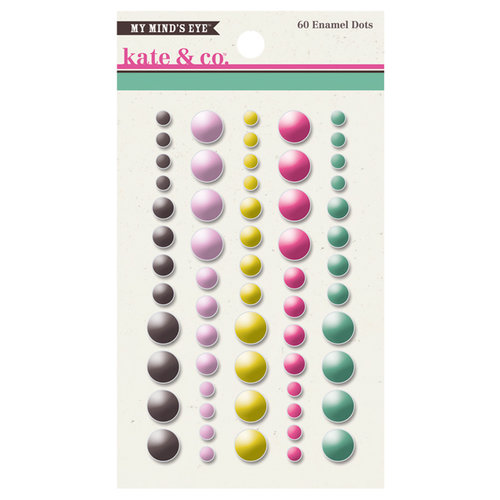 My Mind's Eye - Kate and Co Collection - Cambridge Court - Enamel Dots