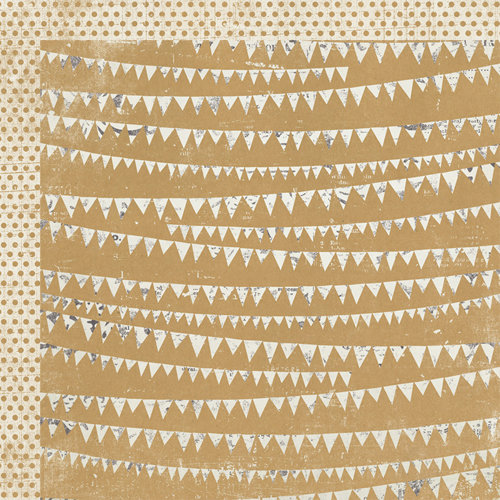 My Mind's Eye - Kraft Funday Collection - Everyday Fun - 12 x 12 Double Sided Kraft Paper - Party