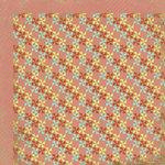 My Mind's Eye - Kraft Funday Collection - Happy Days - 12 x 12 Double Sided Kraft Paper - Pinwheels