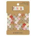 My Mind's Eye - Kraft Funday Collection - Happy Days - Circle Garland