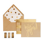 My Minds Eye - Kraft Collection - Card Box Kit - Hello Gorgeous