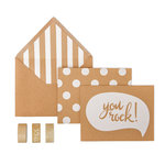 My Minds Eye - Kraft Collection - Card Box Kit - You Rock