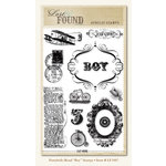 My Mind's Eye - Portobello Road Collection - Clear Acrylic Stamps - Boy, CLEARANCE
