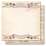 My Mind's Eye - Madison Avenue Collection - 12 x 12 Double Sided Glitter Paper - Girlfriends Lovely, CLEARANCE