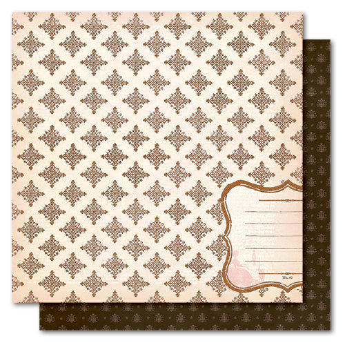 My Mind's Eye - Madison Avenue Collection - 12 x 12 Double Sided Glitter Paper - Sisters Boutique, CLEARANCE