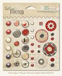 My Mind's Eye - Union Square Collection - Decorative Brads - Favorite