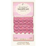 My Mind's Eye - Lost and Found 2 Collection - Blush - Trim - Favorite - Scalloped Lace