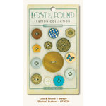 My Mind's Eye - Lost and Found 2 Collection - Breeze - Buttons - Boyish