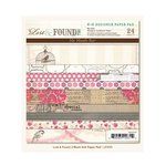 My Mind's Eye - Lost and Found 2 Collection - Blush - 6 x 6 Paper Pad