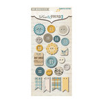 My Mind's Eye - Lost and Found 3 Collection - Oliver - Decorative Buttons