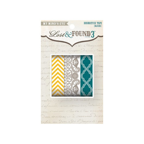 My Mind's Eye - Lost and Found 3 Collection - Oliver - Decorative Tape