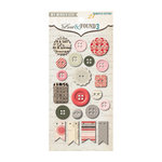 My Mind's Eye - Lost and Found 3 Collection - Ruby - Decorative Buttons
