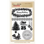 My Mind's Eye - Lost and Found Collection - Christmas - Clear Acrylic Stamps
