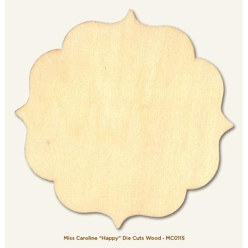My Mind's Eye - Miss Caroline Collection - Howdy Doody - Die Cut Wood Piece - Happy