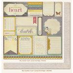 My Mind's Eye - Miss Caroline Collection - Fiddlesticks - 12 x 12 Double Sided Paper - Love Journal