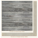My Mind's Eye - Miss Caroline Collection - Fiddlesticks - 12 x 12 Double Sided Paper - Love Woodgrain