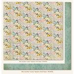 My Mind's Eye - Miss Caroline Collection - Fiddlesticks - 12 x 12 Double Sided Paper - Lucky Tapestry