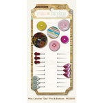 My Mind's Eye - Miss Caroline Collection - Dolled Up - Pins and Buttons - Day