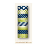 My Mind's Eye - Decorative Tapes - Green and Navy