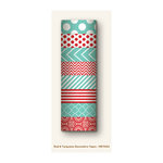 My Mind's Eye - Decorative Tapes - Red and Turquoise