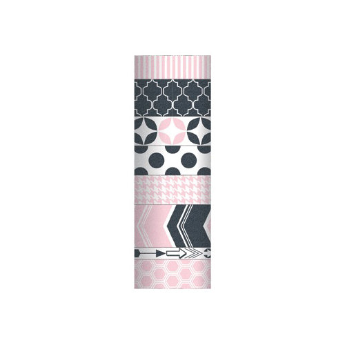 My Mind's Eye - Decorative Tapes - Pink and Charcoal