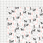 My Minds Eye - Meow Collection - 12 x 12 Double Sided Paper - Kitten Party