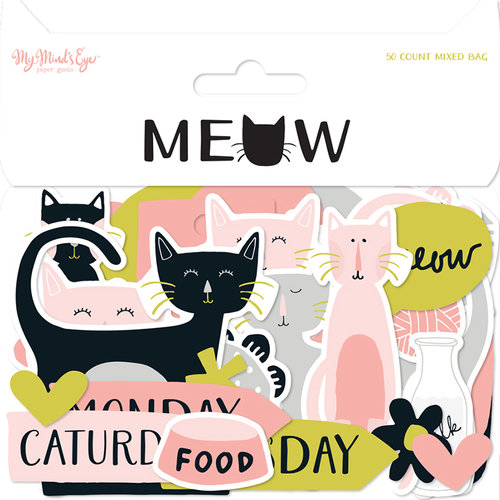 My Minds Eye - Meow Collection - Mixed Bag