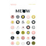 My Minds Eye - Meow Collection - Puffy Stickers