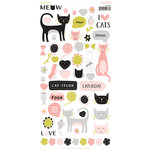 My Minds Eye - Meow Collection - Cardstock Stickers