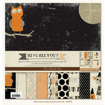 My Mind's Eye - Mischievous Collection - Halloween - 12 x 12 Paper Kit