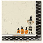My Mind's Eye - Mischievous Collection - Halloween - 12 x 12 Double Sided Paper - Bewitching