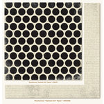 My Mind's Eye - Mischievous Collection - Halloween - 12 x 12 Double Sided Paper - Darkest Dot