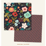My Minds Eye - Market Street Collection - Ashbury Heights - 12 x 12 Double Sided Paper - Gardens