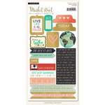 My Mind's Eye - Market Street Collection - Ashbury Heights - Cardstock Stickers - Labels