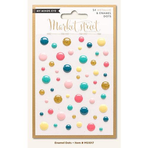 My Mind's Eye - Market Street Collection - Ashbury Heights - Enamel Dots