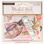 My Mind's Eye - Market Street Collection - Ashbury Heights - Mixed Bag with Foil Accents