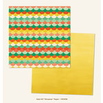 My Minds Eye - Market Street Collection - Nob Hill - 12 x 12 Double Sided Paper - Streamer