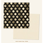 My Minds Eye - Market Street Collection - Nob Hill - 12 x 12 Double Sided Paper with Foil Accents - Sparkle