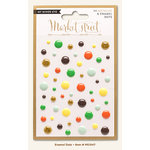 My Mind's Eye - Market Street Collection - Nob Hill - Enamel Dots