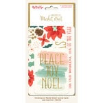 My Minds Eye - Christmas on Market Street Collection - Journal Cards